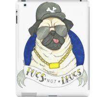 Pugs, Not Drugs  iPad Case/Skin