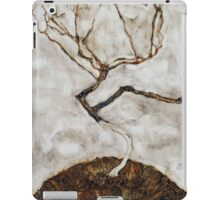 Egon Schiele - Small Tree in Late Autumn 1911  Expressionism Landscape iPad Case/Skin