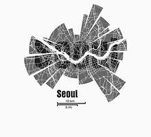 Seoul Map Unisex T-Shirt