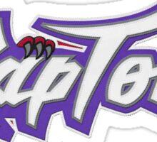 Raptors Classic design. GO RAPTORS  Sticker