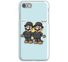 Twin detective iPhone Case/Skin