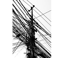 Electricity Photographic Print