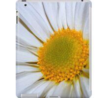 White Daisy iPad Case/Skin