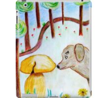 Discovery in the forest iPad Case/Skin