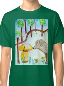Discovery in the forest Classic T-Shirt