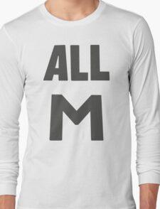 Deku's All M Shirt Long Sleeve T-Shirt