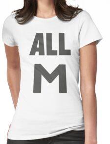 Deku's All M Shirt Womens Fitted T-Shirt