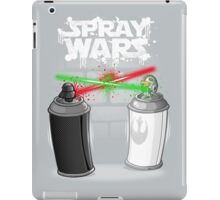Spray wars iPad Case/Skin