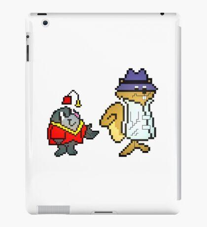 Secret Squirrel & Morocco Mole - Pixel Art iPad Case/Skin