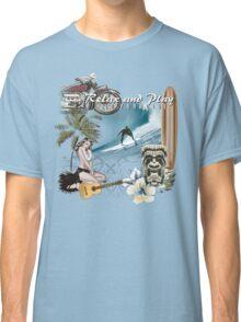 retro beach Classic T-Shirt