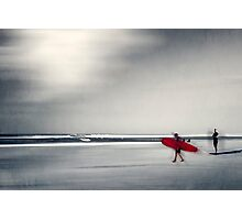 red surfboard 16 Photographic Print