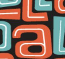Lollapalooza Sticker