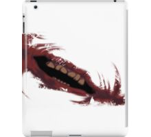 The Joker's Mouth of Madness iPad Case/Skin