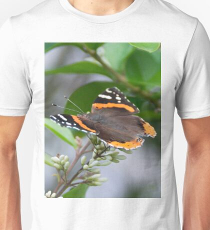Red Admiral Unisex T-Shirt