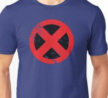 X-Men Red & Black (Distressed) Unisex T-Shirt