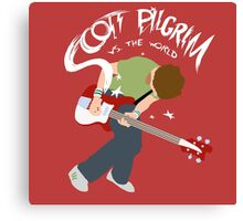 Scott Pilgrim vs the world Canvas Print
