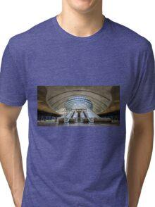 Canary Wharf Underground Station Tri-blend T-Shirt