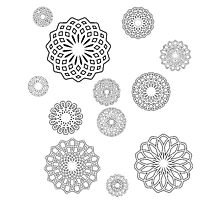 Lace Flowers Photographic Print