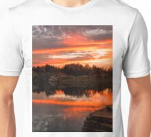 Halibit Sunset Unisex T-Shirt