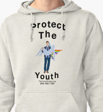 Protect The Youth: Dean Winchester Pullover Hoodie