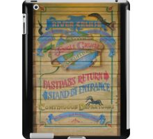 Jungle Cruise (Version 2) iPad Case/Skin