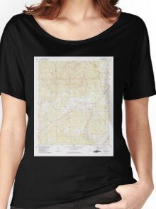 USGS TOPO Map Alabama AL Aldrich 303091 1979 24000 Women's Relaxed Fit T-Shirt