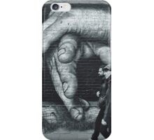Breaking Through. (Berlin Wall) iPhone Case/Skin
