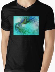 Colored Roots Mens V-Neck T-Shirt