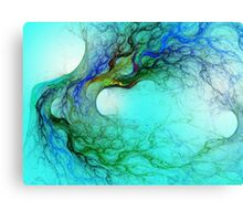 Colored Roots Canvas Print