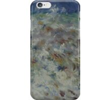Auguste Renoir - The Wave 1882 Impressionism  Landscape iPhone Case/Skin