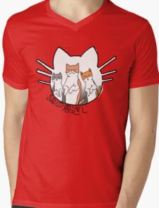 The Cat Returns Mens V-Neck T-Shirt