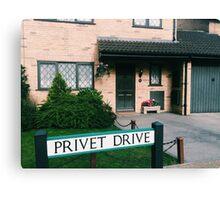 Harry Potter Studios, Privet Drive  Canvas Print