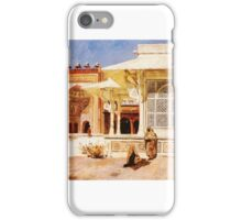 Weeks Edwin Lord White Marble Tomb at Suittitor Skiri iPhone Case/Skin