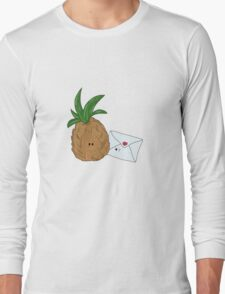 Even Pineapples Love Post.  Long Sleeve T-Shirt