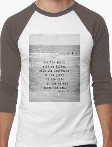 Habakkuk 2 Sea Men's Baseball ¾ T-Shirt