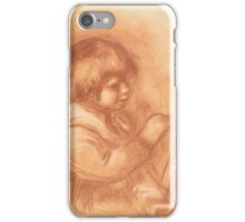 Auguste Renoir - The Artist's Son Claude or Coco 1906 iPhone Case/Skin