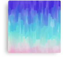 Colorful Brushstrokes Gradient Canvas Print