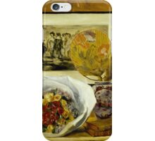 Auguste Renoir - Still Life with Bouquet 1871 Still Life iPhone Case/Skin