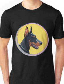 Dog Doberman Pinscher Unisex T-Shirt