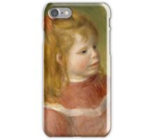 Auguste Renoir - Portrait of Jean . 1897 iPhone Case/Skin