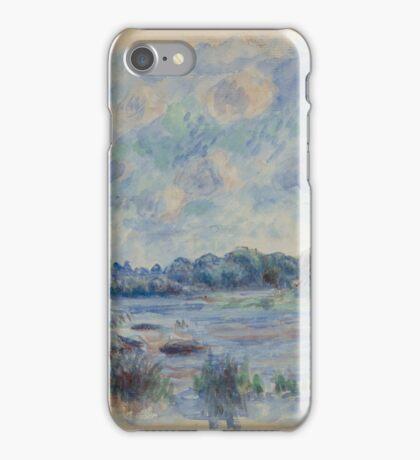Auguste Renoir - Landscape at Pont-Aven 1892 Impressionism  Landscape iPhone Case/Skin