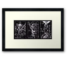 Tarot Cards Framed Print