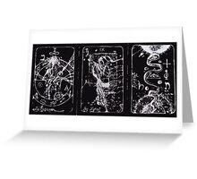 Tarot Cards Greeting Card