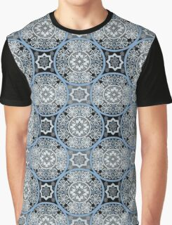 Bright abstract seamless lace pattern romantic print background Graphic T-Shirt