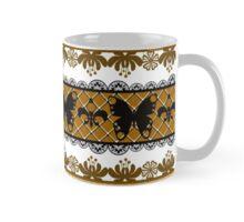 Bright abstract seamless lace pattern romantic print background Mug