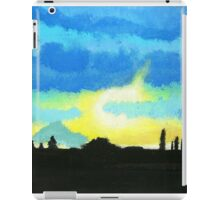 Light through clouds iPad Case/Skin