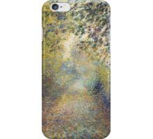 Auguste Renoir - In the Woods  1880 Impressionism  Landscape iPhone Case/Skin