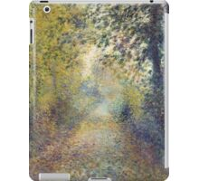 Auguste Renoir - In the Woods  1880 Impressionism  Landscape iPad Case/Skin