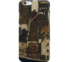 Egon Schiele - Dead City III, City on the Blue River III 1911  Egon Schiele   Landscape iPhone Case/Skin