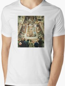 Grand Tour in the Virtual Age Mens V-Neck T-Shirt